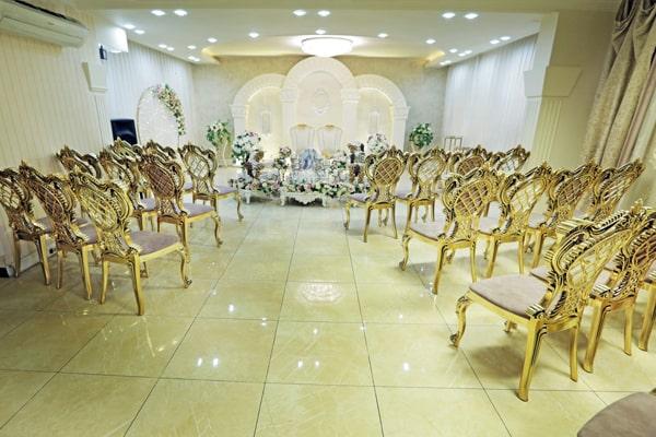 نمای کامل سالن عقد حلما